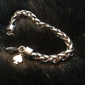 Kate Spade Silver Learn The Ropes Bracelet